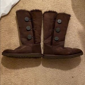 Chocolate brown UGGS